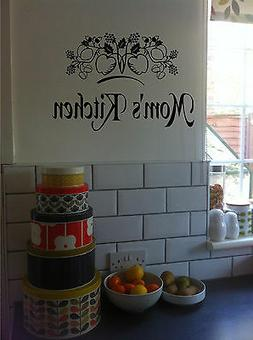 Personalized Kitchen Sign Wall Sticker Wall Art Vinyl Decals