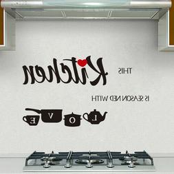 Quote Wall Decal – This Kitchen is - Vinyl Sticker Nursery