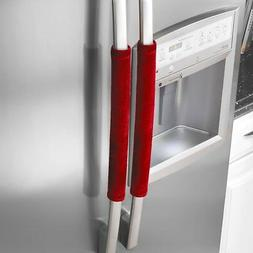 refrigerator door handle covers