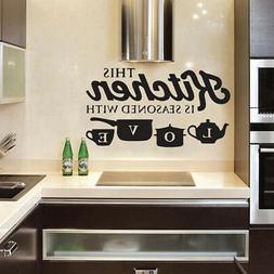 detachable wall sticker vinyl art decal
