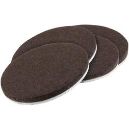 "Self-Stick 3"" Heavy Duty Furniture Felt Pads for Hard Surfac"