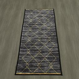 Ottomanson Studio Collection Diamond Trellis Design Runner R