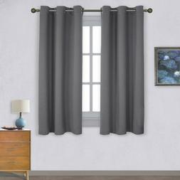 thermal insulated grommet blackout curtains for bedroom
