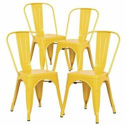 Poly and Bark Trattoria Side Chair in Yellow