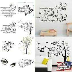 Vinyl Home Room Decor Art Quote Wall Decal DIY Stickers Bedr