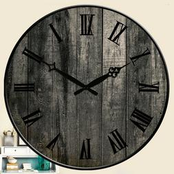 Wall Clocks Village Room Home  Decor Kitchen Hanging Watch L