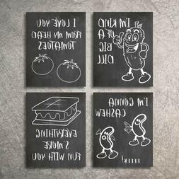 Wall Decor Kitchen Pictures Modern Farmhouse Eat Signs Decor