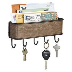 Wall Hanging Mail, Letter Holder, Key Rack Organizer for Ent