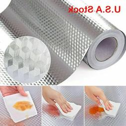 Waterproof Oil-proof Self Adhesive Aluminum Foil Wall Sticke