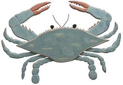 Primitives by Kathy Wooden Blue Crab, 11.75 by 17-Inch